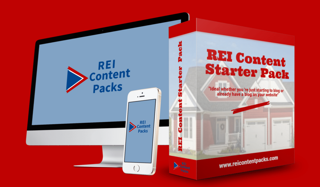REI Content Packs Pre-written real estate investor blog articles