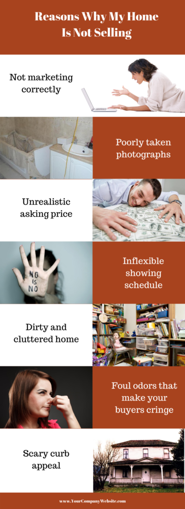Blog 21 Infographic Reasons Why My House Is Not Selling How to Fix Them State